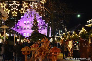 Der Neumarkter Weihnachtsmarkt das Programm