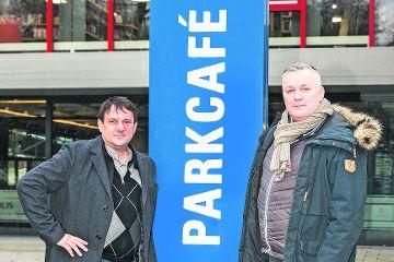Das Parkcafe steht vor der Wiedereröffnung