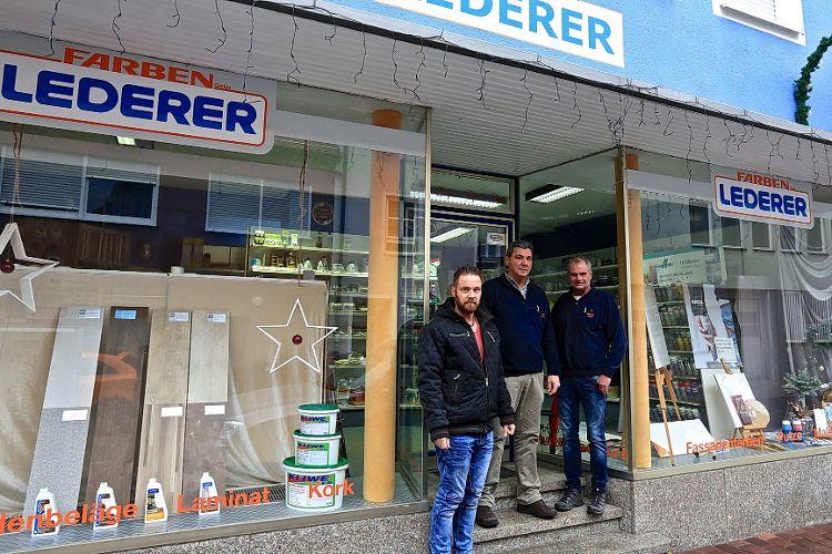 Farben-Lederer nur noch in der Dreichlingerstraße