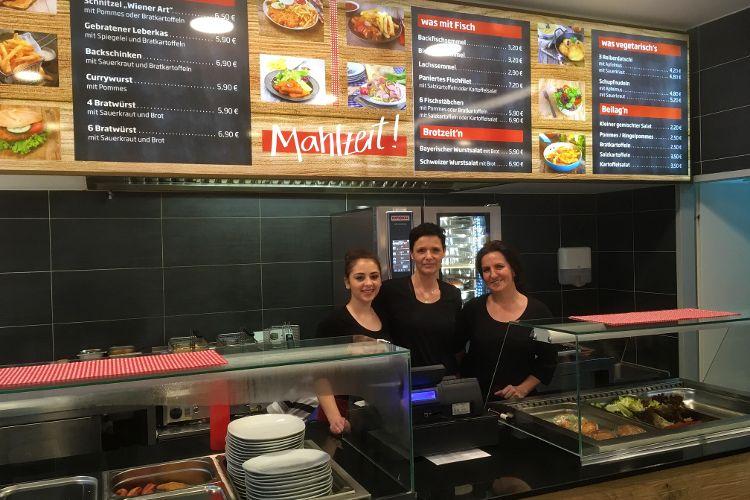 Imbiss Mahlzeit eröffnet im NeuenMarkt