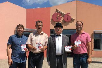 Erste Farbgruppe der Monopoly Stadtedition Neumarkt vorgestellt
