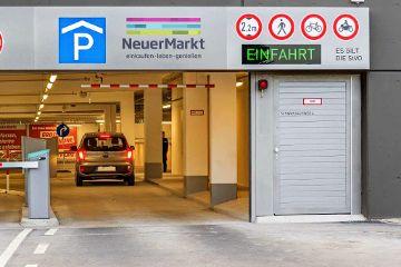 """Bis zu 2 Std. kostenfrei parken im """"NeuenMarkt"""""""
