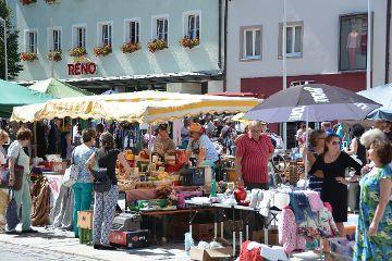 Altstadt-Flohmarkt in Neumarkt am kommenden Samstag