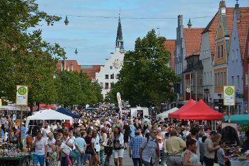 Altstadt-Flohmarkt in Neumarkt am Samstag, 3. August 2019