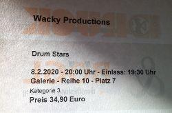Drum Stars, Percussion-Show der Extraklasse