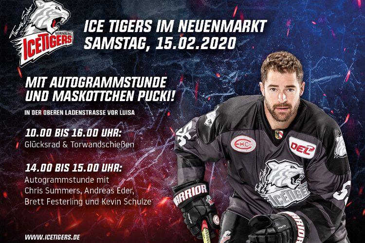 """Thomas Sabo Ice Tigers zu Gast im """"NeuenMarkt"""""""