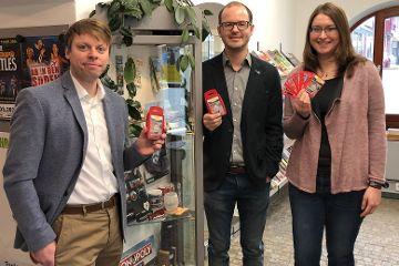 Karten-Quartett über Sehenswürdigkeiten rund um Neumarkt vorgestellt