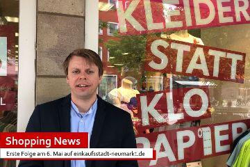 Erste Ausgabe der Shopping News für die Einkaufsstadt Neumarkt