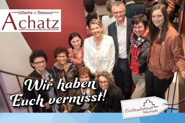 Achatz Wäsche + Dessous - KOSTENLOSE BH-VERMESSUNG