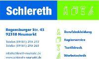Schlereth Kopierservice, Werbetechnik und Berufsbekleidung