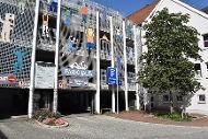 Parkhaus Rosengasse, Schwesterhausgasse 9