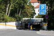 Tiefgarage Residenzplatz, Abtsdorfer Gasse