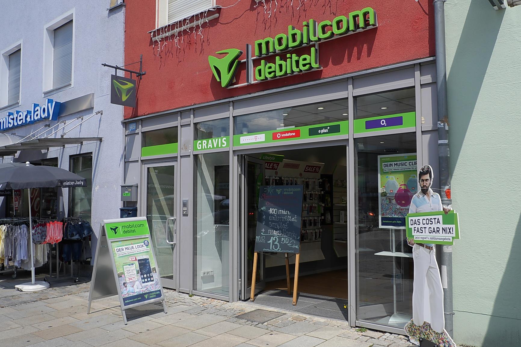 Mobilcom Debitel Filiale Einkaufsstadt Neumarkt