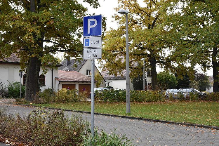 Parkplatz Regensburger Straße