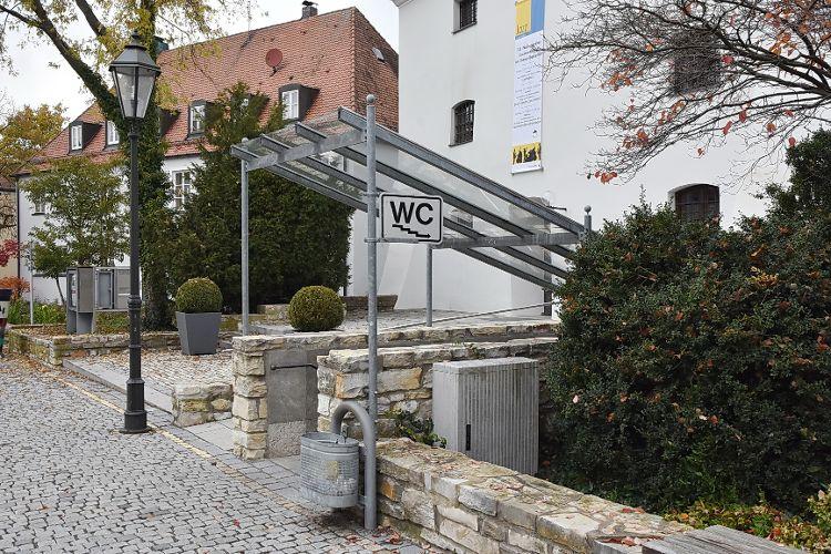 WC Parkhaus Residenzplatz