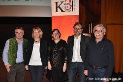 Werner Pohl, Helga Sommer, Susanne Horn, Peter Ehrnsberger und Josef Frankerl